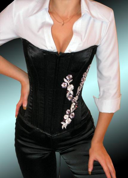 Блузка корсет своими руками